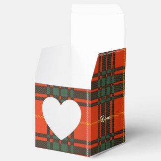 Tartan d'écossais de plaid de clan de Crosby Boite Faveurs De Mariage