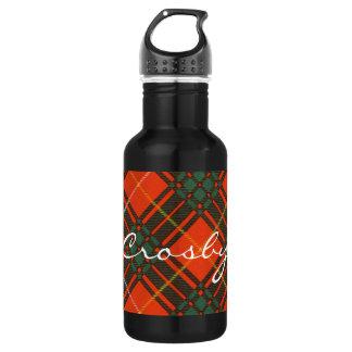 Tartan d'écossais de plaid de clan de Crosby
