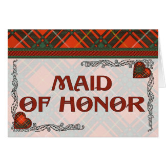 Tartan d'écossais de plaid de clan de Crosby Carte De Vœux