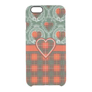 Tartan d'écossais de plaid de clan de Crosby Coque iPhone 6/6S