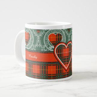 Tartan d'écossais de plaid de clan de Crosby Mug Jumbo