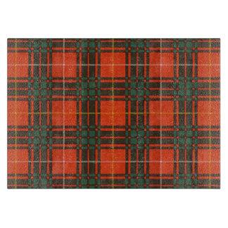 Tartan d'écossais de plaid de clan de Crosby Planche À Découper