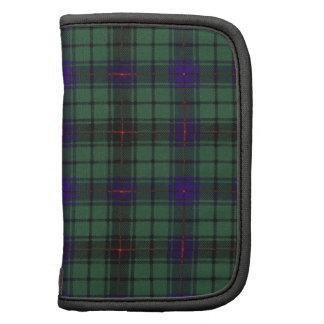 Tartan d'écossais de plaid de clan de Davidson Agenda Folio
