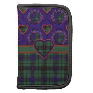 Tartan d'écossais de plaid de clan de Davidson Organiseur