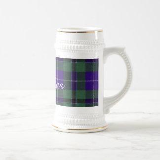 Tartan d'écossais de plaid de clan de Douglas Chope À Bière