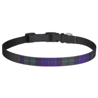 Tartan d'écossais de plaid de clan de Mackay Collier Pour Chien