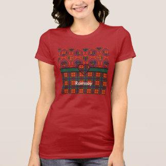 Tartan d'écossais de plaid de clan de Ramsay T-shirt