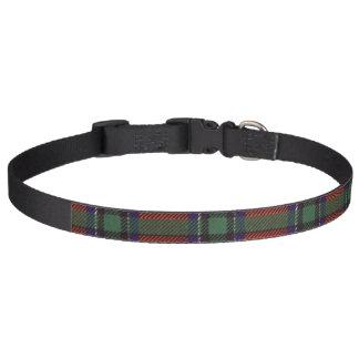 Tartan d'écossais de plaid de clan de Sinclair Colliers Pour Chiens