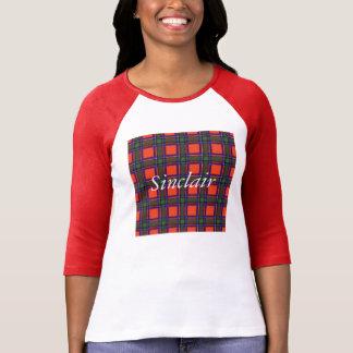 Tartan d'écossais de plaid de clan de Sinclair T-shirt