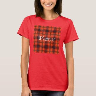Tartan d'écossais de plaid de clan de Wemyss T-shirt