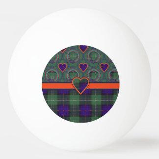 Tartan écossais de kilt de plaid de clan de Chiene Balle De Ping Pong