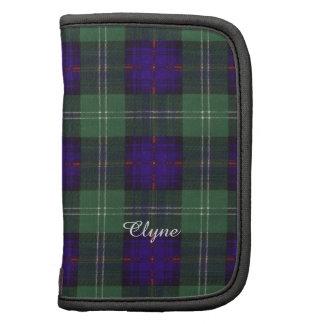Tartan écossais de kilt de plaid de clan de Clyne Agendas