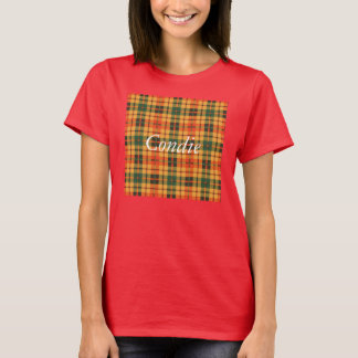 Tartan écossais de kilt de plaid de clan de Condie T-shirt