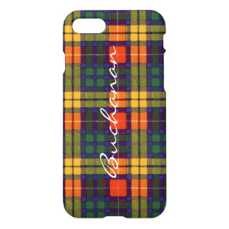 Tartan écossais de kilt de plaid de clan de coque iPhone 7