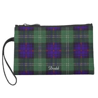Tartan écossais de kilt de plaid de clan de Dodd Anse