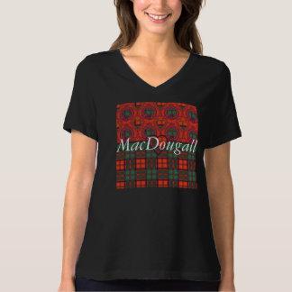 Tartan écossais de kilt de plaid de clan de t-shirt