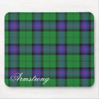 Tartan écossais majestueux d'Armstrong de clan Tapis De Souris