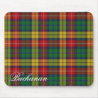 Tartan écossais majestueux de Buchanan de clan Tapis De Souris