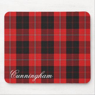 Tartan écossais majestueux de Cunningham de clan Tapis De Souris