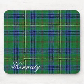 Tartan écossais majestueux de Kennedy de clan Tapis De Souris