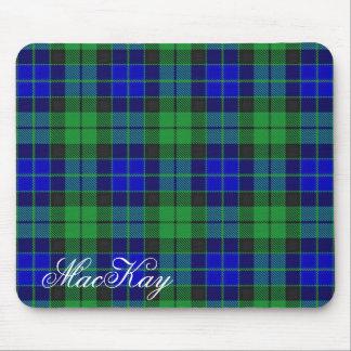 Tartan écossais majestueux de MacKay de clan Tapis De Souris