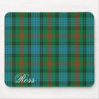 Tartan écossais majestueux de Ross de clan Tapis De Souris