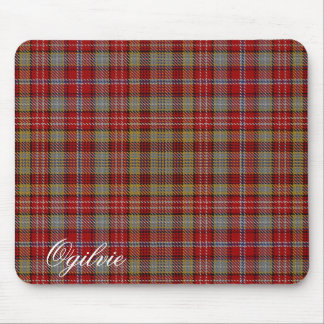 Tartan écossais majestueux d'Ogilvie Ogilvy de Tapis De Souris