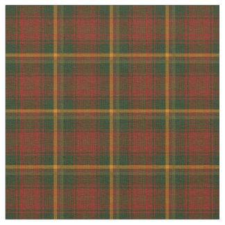 Tartan national canadien de feuille d'érable tissu