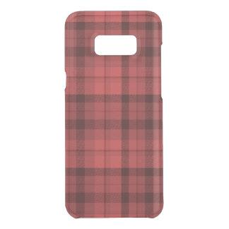 Tartan rouge Phonecase Coquer Get Uncommon Samsung Galaxy S8 Plus