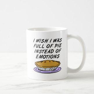 Tarte au lieu de tasse drôle d'émotions