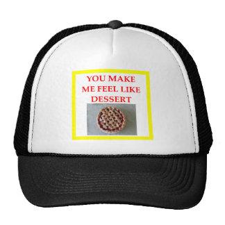 tarte aux cerises casquettes
