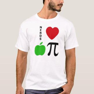 Tarte aux pommes d'amour de ballots t-shirt
