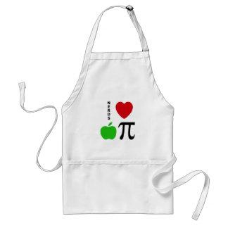 Tarte aux pommes d'amour de ballots tablier