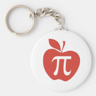 Tarte aux pommes rouge porte-clés
