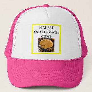 tarte de citrouille casquette