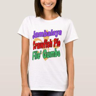 Tarte d'écrevisses de Jambalaya T-shirt
