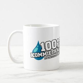 "Tasse : «100% Kommietränen """