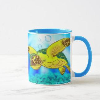 Tasse 12c de tortue de mer