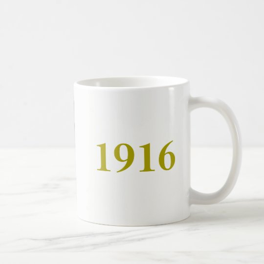 Tasse 1916 en hausse de Pâques