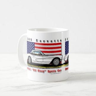 Tasse 1956 de café de Corvette