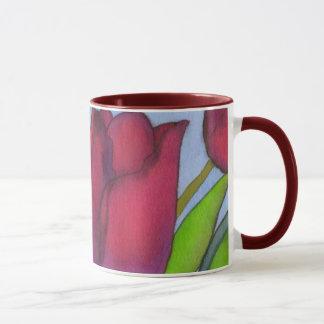 Tasse 1 de tulipes