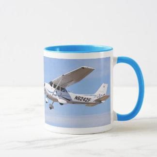 Tasse 2008 de café de photo de PS de Cessna 172