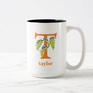Tasse 2 Couleurs ABC de Dr. Seuss's : Lettre T - L'orange |