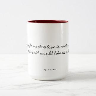 Tasse 2 Couleurs Amour