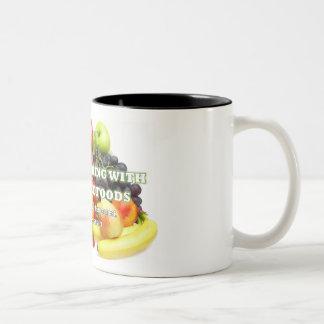 Tasse 2 Couleurs Attention tous les amants de café, de thé ou de
