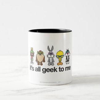 Tasse 2 Couleurs Ballots LOONEY de TUNES™ - tout le geek