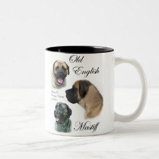 Tasse 2 Couleurs Cadeaux anglais d'art de mastiff