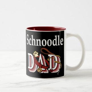 Tasse 2 Couleurs Cadeaux de papa de Schnoodle