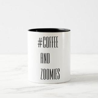 Tasse 2 Couleurs Café et Zoomies