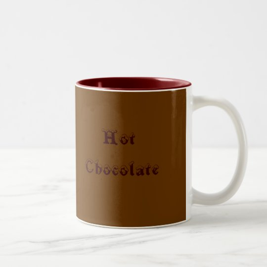 tasse 2 couleurs chocolat chaud. Black Bedroom Furniture Sets. Home Design Ideas